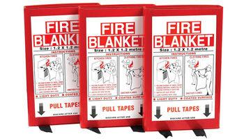 شراء بطانية حريق