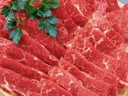 شراء لحم احمر
