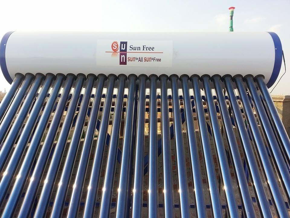شراء سخان مياة بالطاقة الشمسية