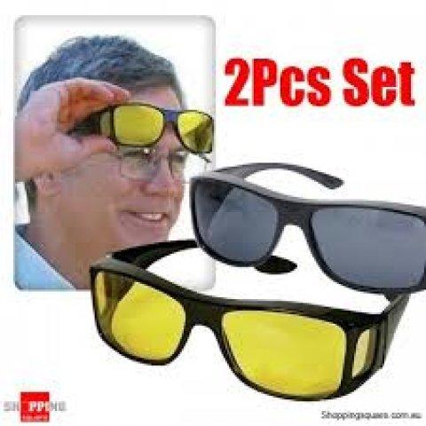 شراء نظارة للرؤية الليلية اثناء القيادة HD Vision
