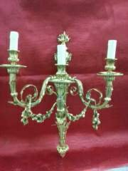 شراء Brass candle wall light