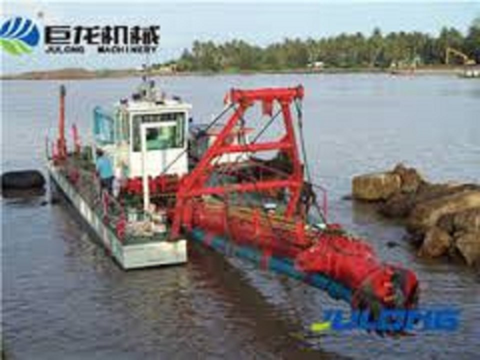 Dredger for Nile and canals