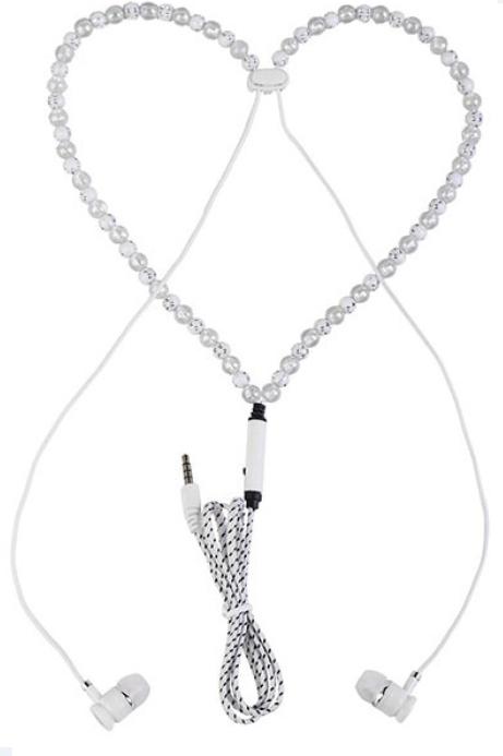 شراء سماعه اذن بتصميم عقد حريمي -Necklace Headset
