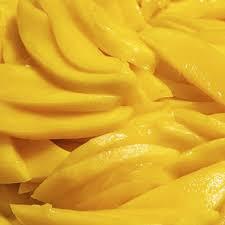 Замороженные кусочки манго