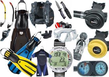Buy Equipment for scuba divers