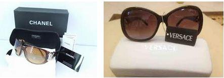 9098056a1 نظارات شمسية ماركات شانيل وفيرساتشى شراء في حي شرق الاسكندرية