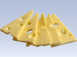 شراء الجبن نصف صلبة