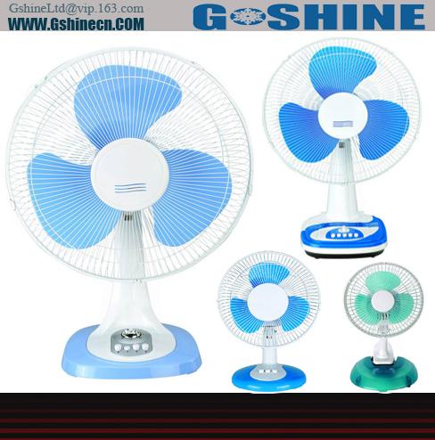 شراء Gshine .Made in china 16inch electrical table home used fan TF-16 series