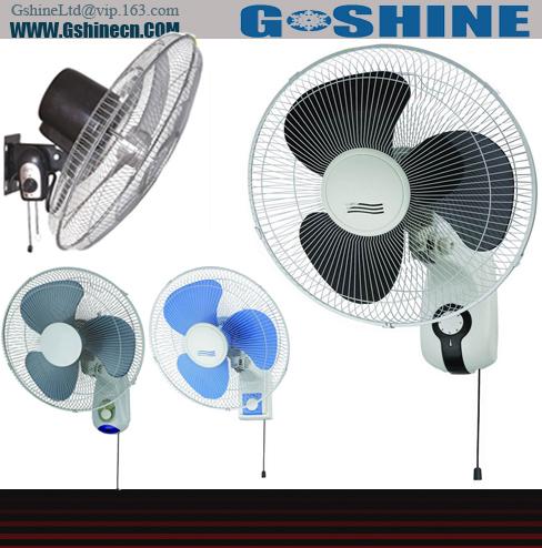 شراء Gshine .Made in china 16inch electrical wall home used fan WF-16 series