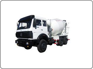 Truck with Concrete Mixer(BEI BEN)