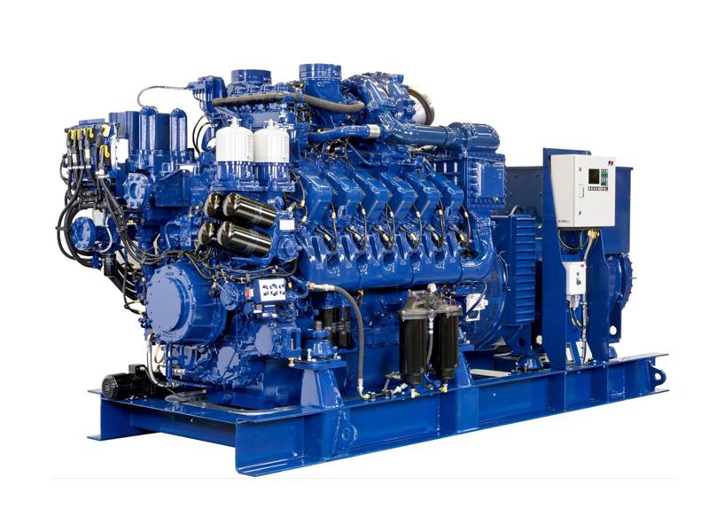 船用发动机图片_大连研发出国内最先进油气双燃料船用发动机