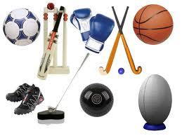 شراء المعدات الرياضية