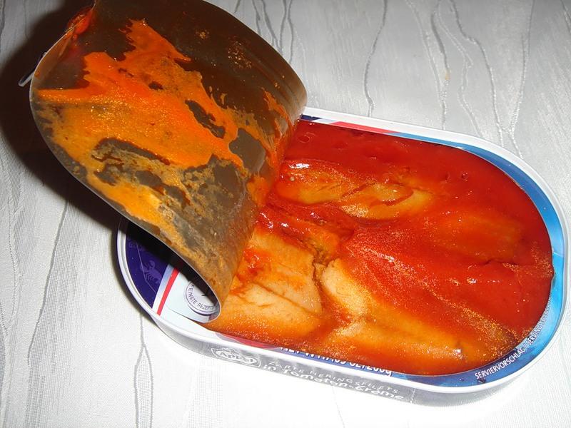 Рецепт рыбных консерв в томате