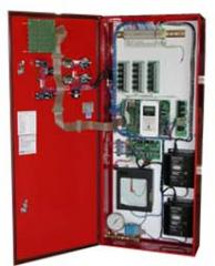Control stations for fire electric pumps
