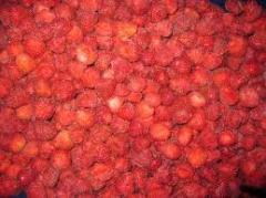 Strawberries frozen
