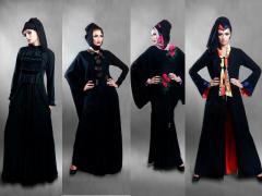 الفخامة والذوق الرفيع فى تصاميم ملابس المحجبات