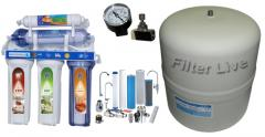 Equipment, water disinfection