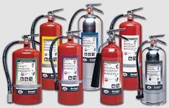 صيانة وتعبئة اجهزة اطفاء الحريق