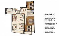 للبيع شقة 262م ناصية شارع شعراوى مع طريق الحرية