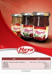 HAYA's Fruits Jam