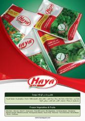 HAYA's Frozen Vegetables & Fruits