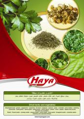 HAYA's Dried Vegetables & Herbs