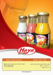 HAYA's Fruits nectar & drink