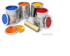 Paint and adhesives
