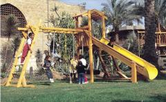 مجمع اطفال خشبي