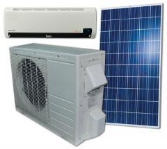 ACDC18 Hybrid Solar Air Conditioner 18000 BTU/H