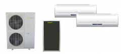 Dual Head Hybrid Thermal Air Conditioner Split 12000 x 2 BTU
