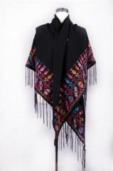 .Hand-Embroidered Shawls (charity)