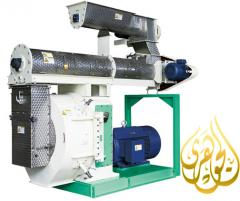 Combined feed production equipment