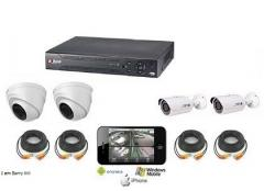 (كاميرات مراقبة واجهزة انذار ( سرقة وحرائق