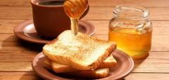 Crude honey of 100% natural