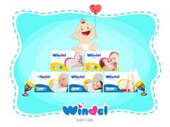 Windel Baby diapers and  tissues