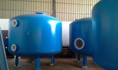 تصنيع فلاتر بأقطار كبيره وتركيب محطات معالجه مياه الشرب