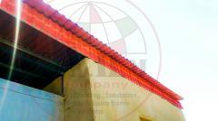 قرميد بلاستيكي منتج اوربي عالي الجودة - من شركة ايه اتش ام للاسقف والكلادينج والاسبيس فريم سيستم