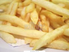 بطاطس نصف مقلية -French fries