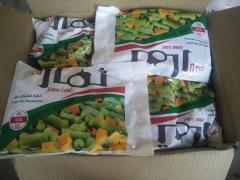 Замороженные овощи микс IQF