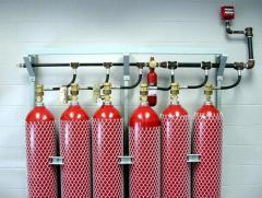 انظمة الاطفاء الالي بغاز co2