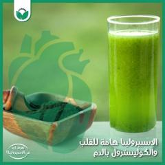 """""""spirulina and its relationship to weight"""