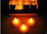Paraffin candles