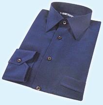 قميص ازرق اللون