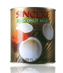 Coconut milk 20-22% fat (Sincere 2900)