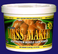 Weight Gainers(Advanced Mass Maker)