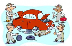 Devices for repair of automobiles
