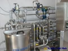 المعدات اللازمة لصناعة الالبان
