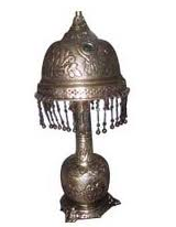 Hand made brass table lamps