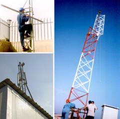 صواري وابراج للاتصالات السلكية واللاسلكية